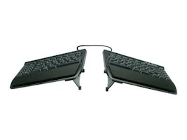 Kinesis Freestyle2 Keyboard for PC, 9 Cable, with VIP3 Accessory Installed, KB820PB-US, 14278628, Keyboards & Keypads