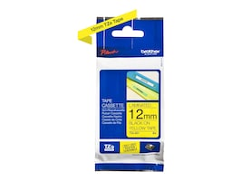 Brother 0.47 x 26.2' TZe631 Black on Yellow Tape for P-Touch 8m, TZE-631, 12529391, Paper, Labels & Other Print Media