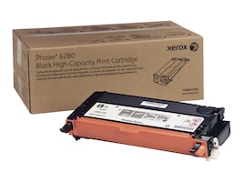 Xerox Black High Capacity Print Cartridge for Phaser 6280, 106R01395, 9409769, Toner and Imaging Components