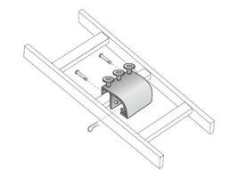 Black Box Radius Drop Kit, Black, RM867-R2, 12927823, Rack Cable Management