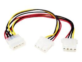 StarTech.com Power Y-splitter Cable (PYO2L), PYO2L, 242806, Power Cords
