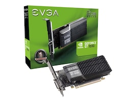 eVGA GeForce GT 1030 SC PCIe 3.0 Low-Profile Graphics Card, 2GB GDDR5, 02G-P4-6332-KR, 34313144, Graphics/Video Accelerators