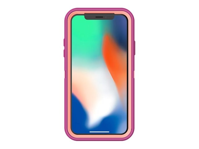 detailed look c5cf0 3bee0 OtterBox Defender Case for iPhone X, Dot Fusion