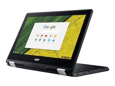 Acer Chromebook Spin R751T-C4XP Celeron N3350 1.1GHz 4GB 32GB SSD ac BT 2xWC 2C 11.6 HD MT Chrome OS, NX.GPZAA.001, 34605930, Notebooks - Convertible