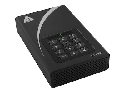Apricorn 4TB Aegis Padlock DT USB 3.0 FIPS Desktop Hard Drive, ADT-3PL256F-4000, 17284695, Hard Drives - External