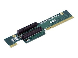 Supermicro 1U PCIE-X8 Riser Card for SC815U SC812U, Left Slot, RSC-R1UU-2E8, 7633695, Motherboard Expansion
