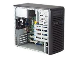 Supermicro Mini Tower Chassis, 300W PSU, CSE-731I-300B, 9313871, Cases - Systems/Servers