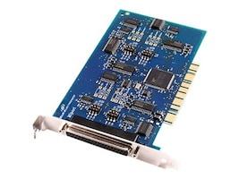 B&B Electronics 4-port Non-Isolated Midport Universal PCI Card, 3PCIU4, 13330674, Network Adapters & NICs