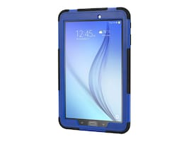 Griffin Survivor Slim for Galaxy Tab E, Black Blue, GB42577, 32049554, Carrying Cases - Tablets & eReaders