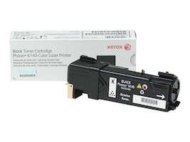 Xerox Black Toner Cartridge for Phaser 6140, 106R01480, 10622399, Toner and Imaging Components - OEM