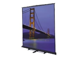 Da-Lite Floor Model C Projection Screen, Matte White, 4:3, 180, 98042, 10417934, Projector Screens