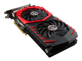MSI Computer RX 580 GAMING X 8G Main Image from Right-angle