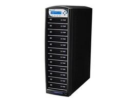 Vinpower SharkBlu Blu-ray XL DVD CD USB 1:12 Tower Duplicator w  Hard Drive, SHARKBLU-S12T-XL-BK, 15129552, Disc Duplicators