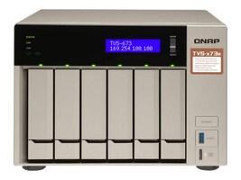 Qnap 6-Bay NAS iSCSI IP-SAN R 4CORE Storage, TVS-673E-8G-US, 35059715, SAN Servers & Arrays