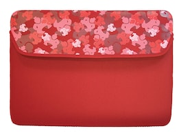 Mobile Edge Sumo Camo iPad Sleeve, Red, SUMO-IPADSC7, 11636346, Protective & Dust Covers