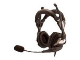 LXE Rugged Dual Ear Dual Padded Over-The-Head Headband Headset, RH770, 16639247, Headsets (w/ microphone)