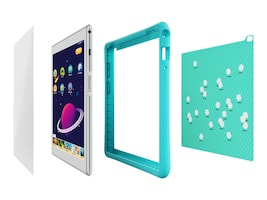 Lenovo Tab4 10 HD Kids Case, Mint Blue, ZG38C01718, 34047077, Carrying Cases - Other