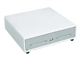 MMF POS 16w, Printer-driven, 5-Bill 8-Coin, White w  Stainless Steel Front, MMFVL1616E06, 28188261, Cash Drawers