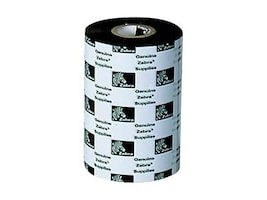Zebra 4.3 Black 5319 Wax Print Ribbons (12-pack), 05319GS11007, 8791441, Printer Ribbons