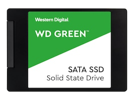 Western Digital 120GB WD Green SATA 6Gb s 2.5 7mm Internal Solid State Drive, WDS120G2G0A, 34983009, Solid State Drives - Internal