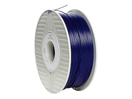Verbatim Blue 1.75mm 1kg PLA 3D Filament, 55252, 30788290, Printer Supplies - 3D