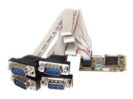 StarTech.com 4 Port RS232 Mini PCI Express Serial Card w  16650 UART, MPEX4S552, 13319424, Controller Cards & I/O Boards