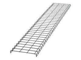 Panduit 18w x 10'l Wyr-Grid Cable Pathway, Black, WG18BL10, 16963012, Cable Accessories