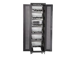 Black Box Mass Charging Cabinet w Cable Management, 72-Device, MSC-72-CCN, 33247587, Charging Stations