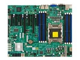Supermicro Motherboard, Intel C602, ATX, E5-2600 1600, Max. 256GB DDR3, 6x SATA, 3x PCIe, GNIC, X9SRL-F-O, 14717504, Motherboards