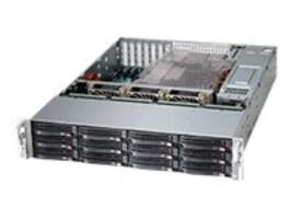 Supermicro SuperChassis 826BE26-R920LPB 2U RM, 14x HS Bays, 3x Fans, 2x 920W PS, CSE-826BE26-R920LPB, 14684466, Cases - Systems/Servers