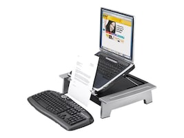 Fellowes Office Suites Standard Monitor Riser Plus with Copyholder, 8036601, 7424252, Stands & Mounts - AV