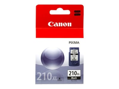 Canon Black PG-210 XL Ink Tank, 2973B001, 8907133, Ink Cartridges & Ink Refill Kits - OEM