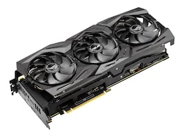 Asus ROGSTRIXRTX2080TI11G Main Image from Right-angle