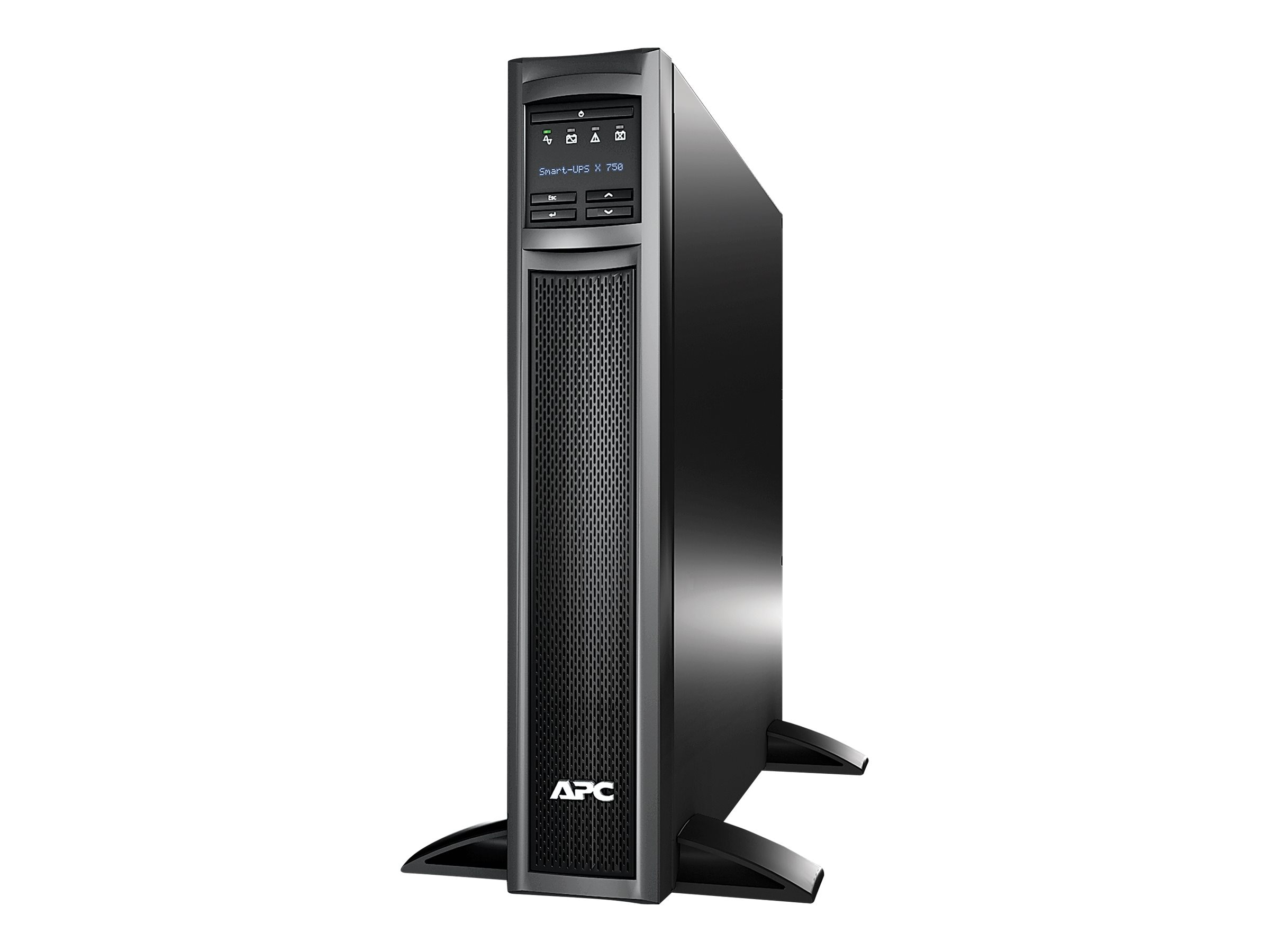 APC Smart-UPS X750VA 600W Rack Tower LCD 120V UPS (8) Outlets, SMX750, 10334493, Battery Backup/UPS