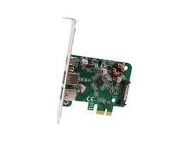 Syba USB 3.1 Gen 1 5Gbps Multiport PCI-Express Host Card, SD-PEX20199, 34152563, Host Bus Adapters (HBAs)