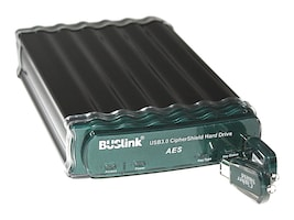 Buslink Media 3TB CipherShield USB Powered USB 3.0 eSATA FIPS 140-2 HIPAA 256-bit AES External Hard Drive, CDSE-3T-SU3, 33059623, Hard Drives - External