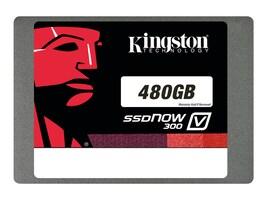 Kingston 480GB SSDNow V300 SATA 6Gb s 2.5 Internal Solid State Drive, SV300S37A/480G, 16374154, Solid State Drives - Internal