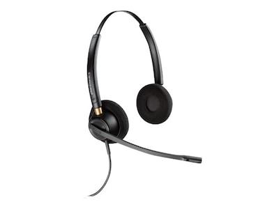 Plantronics HW520 EncorePro Binaural Noise Cancelling Headset w  Mic, 89434-01, 17997468, Headsets (w/ microphone)