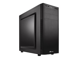 Corsair Chassis, Carbide Series 100R, Black, CC-9011075-WW, 18321216, Cases - Systems/Servers