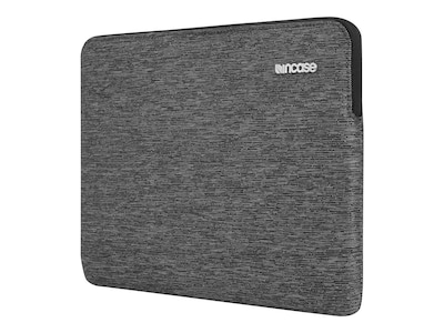 Incipio Incase Slim Sleeve for MacBook 12, Heather Black, CL60675, 32635983, Carrying Cases - Notebook