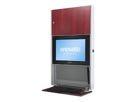 Enovate 550 Lite Wall Station with eLift, Port Maple, E550T4-N4W-00PM-0, 15728900, Computer Carts - Medical