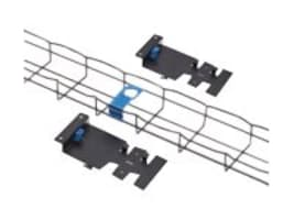 Eaton Vertical Flextray, 6 x 2, 42U, w  Mounting Hardware, Black, RSCMBFT42U62, 33776091, Rack Cable Management