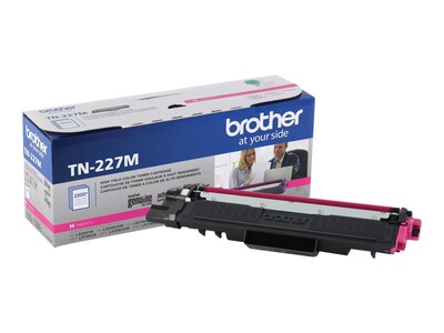 Brother Magenta High Yield Toner Cartridge for HL-L3210CW, HL-L3230CDW, HL-L3270CDW, HL-L3290CDW, TN227M, 35995870, Toner and Imaging Components - OEM
