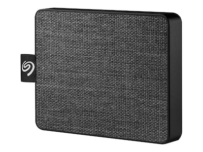 Seagate 500GB One Touch USB 3.0 Ultra Portable Solid State Drive - Black, STJE500400, 37579183, Solid State Drives - External