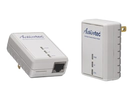 Actiontec 500MBPS 1-Port Powerline Ethernet Adapter White Box Packaging, PWR511WB1, 16060139, Wireless Routers