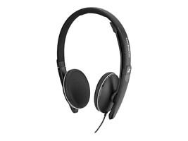 Sennheiser SC 165 USB-C Double-Sided Headset w  3.5mm Jack & USB-C, 508317, 36719181, Headsets (w/ microphone)