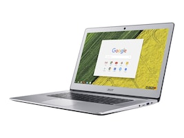 Acer Chromebook 515-1HT-P6W6 Pentium N4200 1.1GHz 8GB 64GB eMMC ac BT WC 15.6 FHD MT Chrome OS Silver, CB515 Chromebook i-N4200 15.6, 35737820, Notebooks