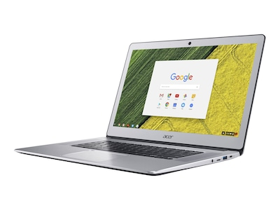 Acer Chromebook 515-1HT-P6W6 Pentium N4200 1.1GHz 8GB 32GB eMMC ac BT WC 15.6 FHD MT Chrome OS Silver, NX.GPTAA.001, 35737820, Notebooks