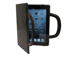 Mobile Edge Deluxe Folio for iPad, Black, MEIDF1, 15305683, Carrying Cases - Tablets & eReaders