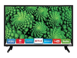 Vizio 24IN LED HDTV 1366X768 D24H-G9 MNTRHDMI ENET USB TUNER LATE OCT, D24H-G9, 36282492, Televisions - Consumer